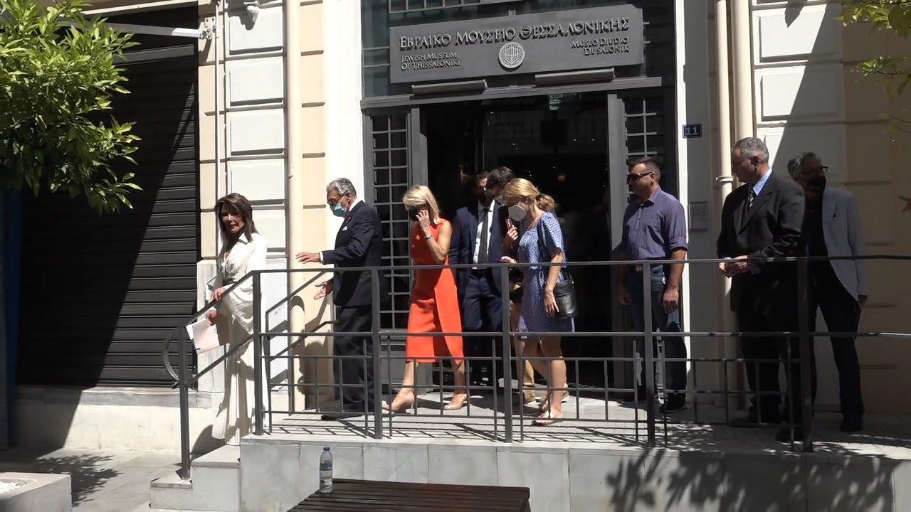 Επίτημη πρόεδρος του Συνδέσμου Φιλίας Ελλάδας – Ισραήλ η Γιάννα Αγγελοπούλου