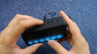 Включение FM радио Bluetooth колонки, портативная колонка как включить радио, X3