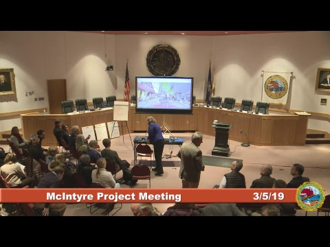 McIntyre Project Public Meeting 3.5.2019
