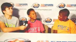 Interviews at ASYFT Basketball & Speed N\' Agility Summer Camp 2015