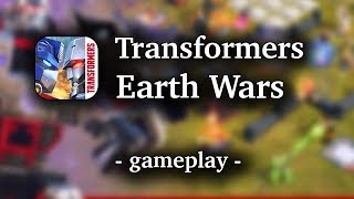 Transformers: Earth Wars [by Backflip ] - HD Gameplay (iOS/Android)