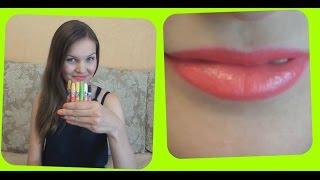 Смотреть онлайн Как сделать помаду из восковых карандашей