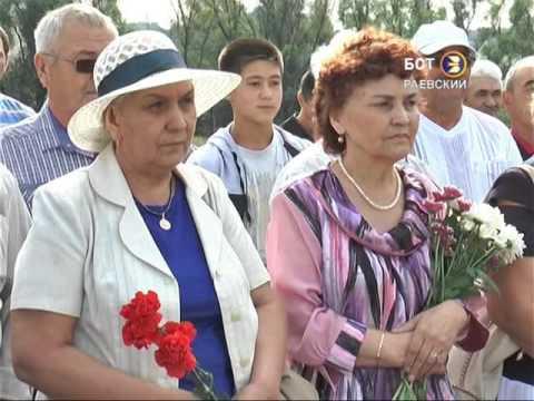 Открытие стеллы в д. Мурзагулово