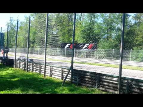 GIRO DI RICOGNIZIONE F1 GP MONZA 2015 - PRATO SECONDA VARIANTE