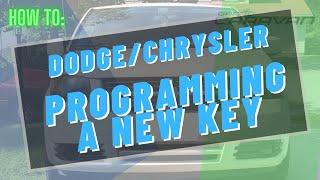 Key repair and reprogramming for 08-10 Dodge Grand Caravan / Chrysler Town & Country