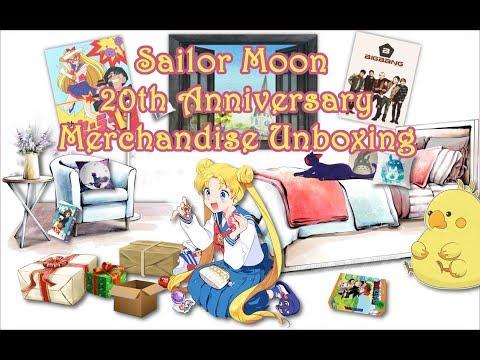 Unboxing Sailor Moon 20th Anniversary Wallet Samantha Vega ohne Kommentar