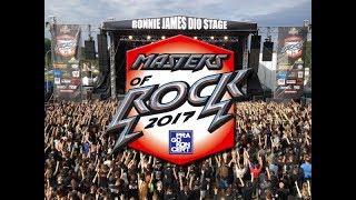 MASTERS OF ROCK 2017 (Vizovice CZ)