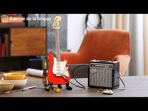 Vidéo LEGO Ideas 21329 : Fender Stratocaster