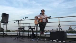 Максим Соболевский концерт на крыше JetBrains. Песня десятая, про кота
