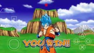 Dragon Ball Z shin budokai 2 ppsspp com mod ÉPICO! - Most