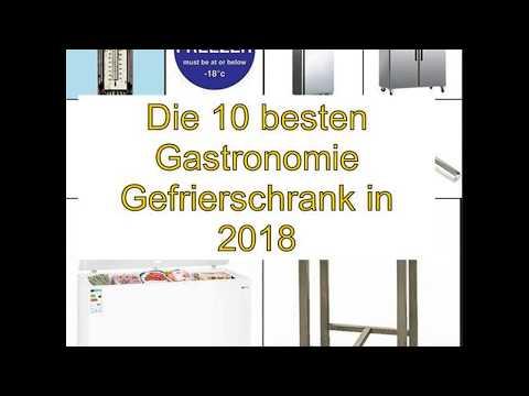Die 10 besten Gastronomie Gefrierschrank in 2018