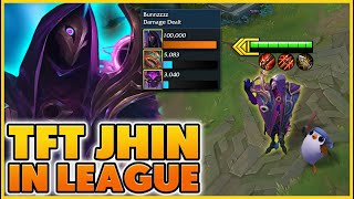 I Play Jhin But I Can ONLY Buy TFT Items!! (Funny) - BunnyFuFuu | League of Legends