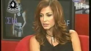 Anna Vissi talks about Paraxenes Ikones & Diogenis Studio, MAD (2004) [fannatics.gr]