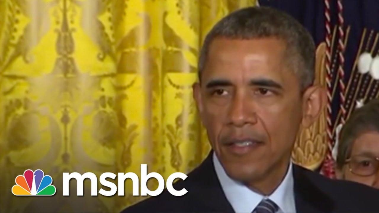 President Obama Unveils Clean Power Plan | msnbc thumbnail
