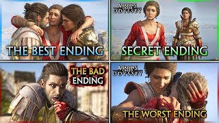 Assassin's Creed Odyssey ► HOW TO GET ALL ENDINGS (Secret, Best, Bad & Worst)