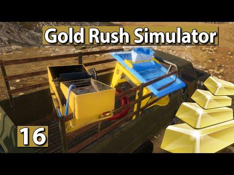 GOLDGRÄBER SIMULATOR   NEUER CLAIM: Endlich fame? ► #16 Gold Rush Gameplay deutsch