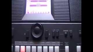Como Crear Ritmo De Cumbia En Yamaha PSR-S650 Parte 1