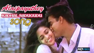 Kadhal Sadugudu Video Song | Alaipayuthey Tamil Movie | Madhavan | Shalini | AR Rahman