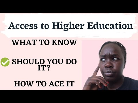 PART 2 | Access to HE: Should I do an access course?