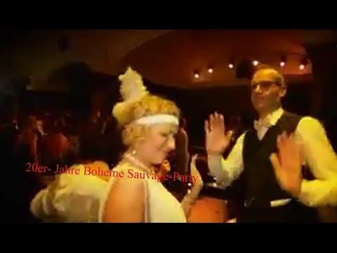20er-Jahre Boheme Sauvage-Party