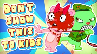 What the HELL is Happy Tree Friends? (you thought this was for kids? NOPE lol)