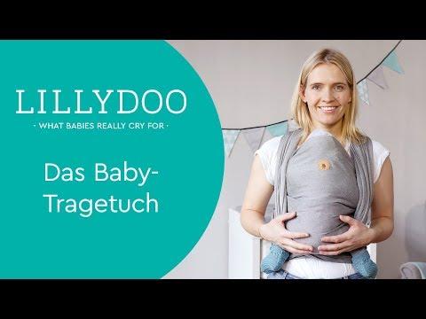 Baby-Tragetuch – So bindest Du es richtig | Tipps & Tricks von LILLYDOO Hebamme Sissi Rasche