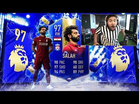 OMG I PACKED 97 TOTS SALAH!!! NO WAY!!! FIFA 19