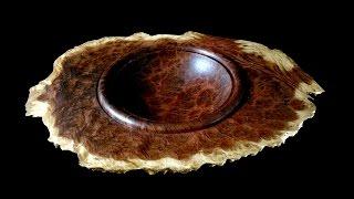 Woodturning with Tim Yoder- Winged Burl Bowl