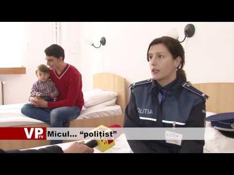 """Micul… """"polițist"""""""