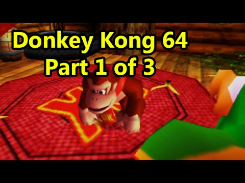 Donkey Kong 64 Walkthrough - DK 64 Mega Stream Part 2 of 3