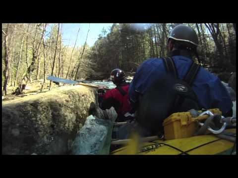 Octane 92 Whitewater Tandem Canoe in action