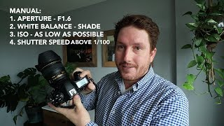How to Shoot in Manual Mode (The easiest way)