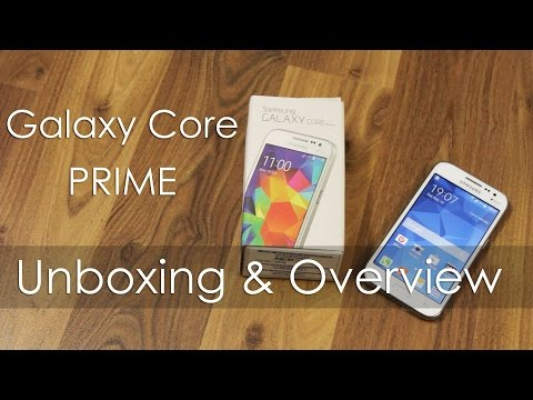 Samsung Galaxy Core PRIME Budget Android Unboxing & Overview