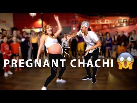"""""""Loco Contigo"""" Dance with PREGNANT Chachi!"""