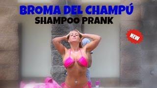 EPIC SHAMPOO PRANK IN SPAIN! [BROO'S TV]