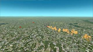 preview picture of video 'VRS TacPack (Beta) Test Flight - F-105D vs SAM'