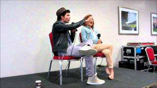 Эндрю Ли Поттс, Andrew Lee Potts & Hannah Spearritt talk Primeval (and more!)
