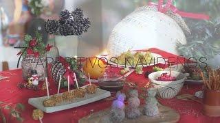 7 Aperitivos para hacer en Navidad con niños. Vegetarianos.