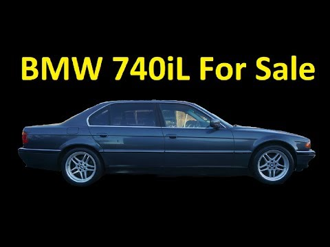 BMW 740iL E38 FOR SALE ~ INTERIOR VIDEO REVIEW M7 M5 WHEELS