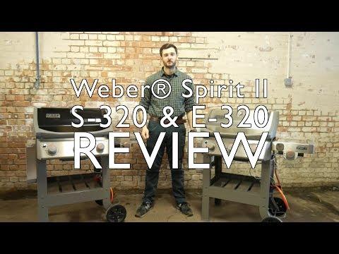 Weber® Spirit II S320 & E320 GBS Gas Grill