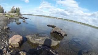 Рыбалка на онежском озере в вознесенье