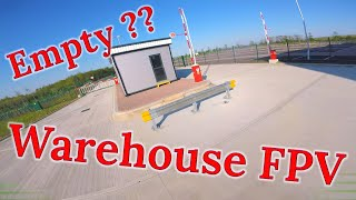 Exploring A Disused Warehouse | FPV FREESTYLE