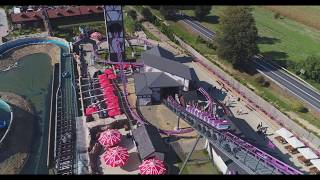 Park Rozrywki Energylandia - Boomerang Roller Coaster - Drone