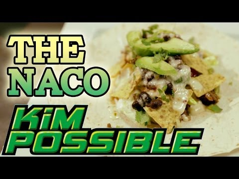How to make THE NACO from Kim Possible! Feast of Fiction S3 E6