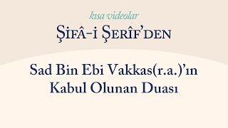 Kısa Video: Sad Bin Ebi Vakkas'ın Kabul Olunan Duası