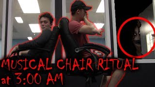 DON'T PLAY MUSICAL CHAIRS AT 3 AM!! (ATTACKED BY GHOST)
