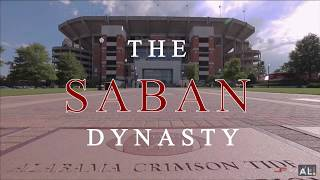 ALABAMA FOOTBALL (THE SABAN DYNASTY)