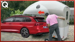 Most Ingenious Camping Vehicles And Space-Saving Motorhomes