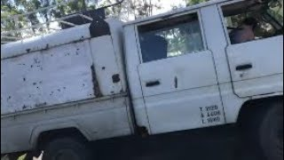 JIMBO BUSTS SOMEONE IN NOOSA TRYING TO STEAL HIS TRUCK