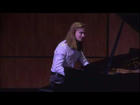 AJ performs Scarlatti and Schumann/Liszt.